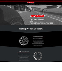Screenshot braking.de - Firmengruppe Keszler Top Brands