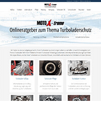 Screenshot turboladerschutz.de - Firmengruppe Keszler Top Brands